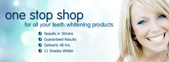 Tooth whitening gels sale ends on 15th october